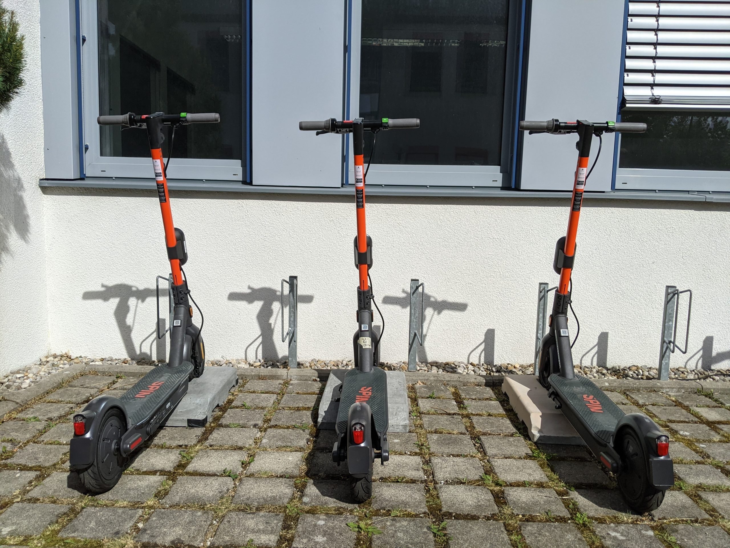 Scooter Charging Stations