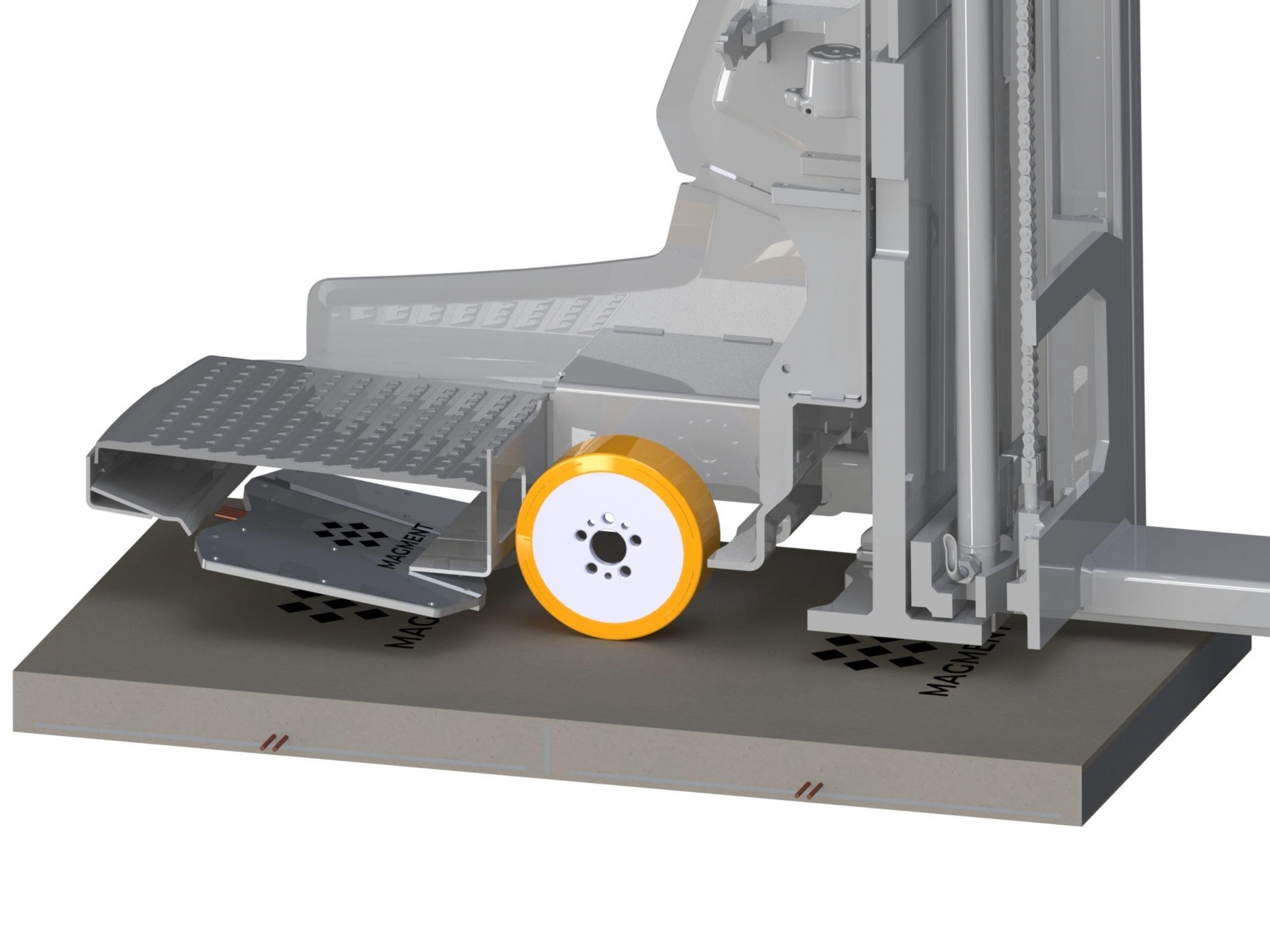 magment technology forklift